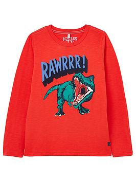 joules-boys-action-dino-long-sleeve-t-shirt-red