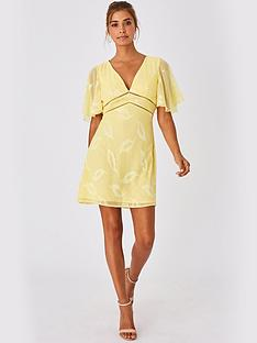 little-mistress-mini-applique-dress-lemon