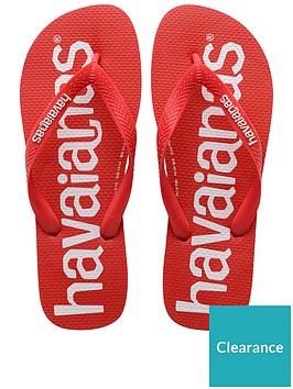 havaianas-logomania-flip-flops-red