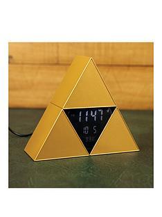 paladone-zelda-triforce-alarm-clock