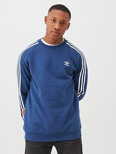 adidas-originals-3-stripe-crew-neck-sweat-navy