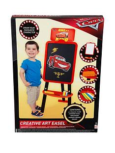1600418936: Disney Cars Cars Double Sided Floor Standing Easel