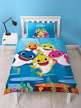 baby-shark-underwater-single-duvet-cover-set