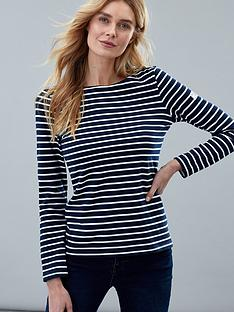 joules-striped-harbour-top-cream-navy