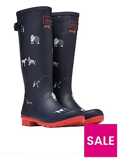 joules-printed-welly-with-adjustable-gusset-multi