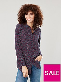 joules-elvina-button-front-woven-top-multi