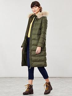 joules-joules-touchline-padded-coat-with-removable-faux-fur-trim-navy