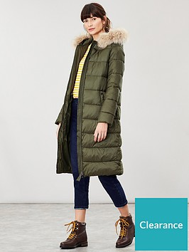 joules-touchline-padded-coat-with-removable-faux-fur-trim-green