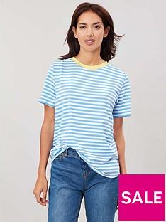 joules-selma-short-sleevenbspt-shirt-whiteblue