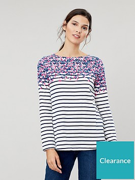joules-harbour-floral-long-sleeve-jersey-top-multi