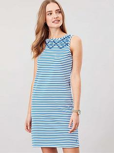 joules-riva-sleeveless-jersey-print-dress-whiteblue