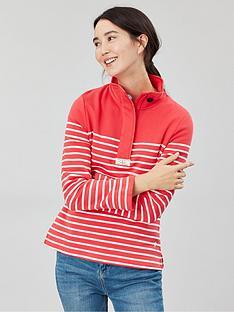 joules-saunton-casual-half-zip-sweatshirt-redcream