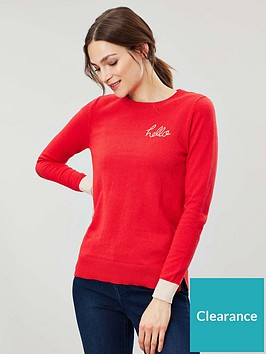 joules-asha-crew-neck-jumper-red
