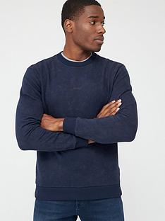 boss-wash-sweatshirt-navy