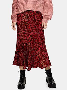 topshop-heart-flounce-midi-skirt-red