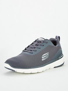 skechers-flex-advantage-30-landess-trainers-grey