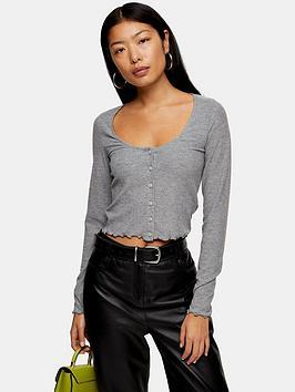 topshop-weekend-t--shirt-grey