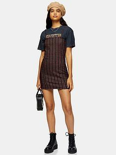 topshop-topshop-strappy-mini-dress-red