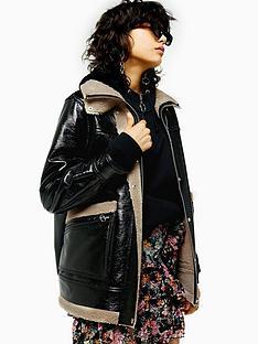 topshop-otto-borg-lined-jacket-black