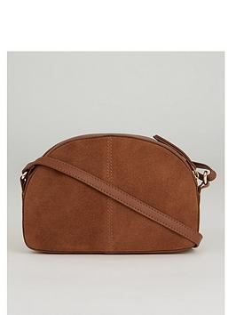 warehouse-suede-half-moon-cross-body-bag-tan