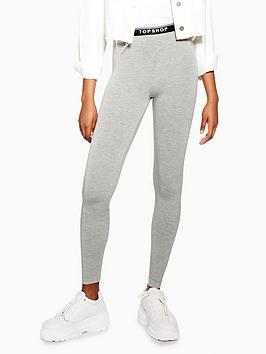 topshop-elastic-leggings-grey