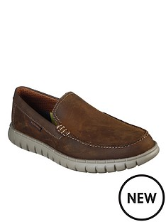 skechers-leather-slip-on-loafers