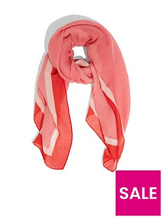 oasis-copenhagen-colourblock-crinkle-scarf-multi