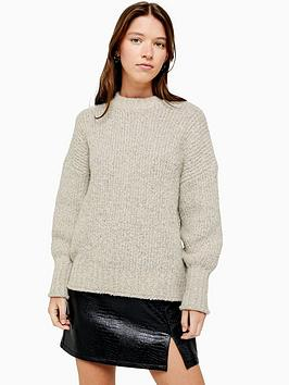 topshop-boucle-knitted-jumper-oat