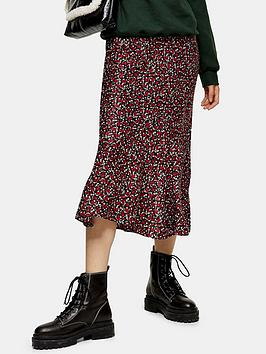 topshop-ditsy-floral-flounce-midi-skirt-red