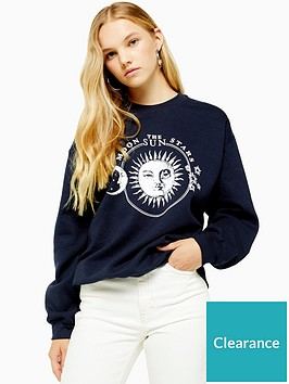 topshop-moon-and-stars-sweat-top-navy