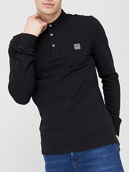 boss-passerby-long-sleeve-polo-shirt-black