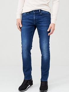 prod1089264252: Charleston Extra Slim Fit Jeans - Mid Blue