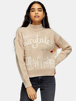 topshop-new-york-christmas-jumper-oat