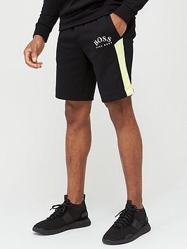 boss-headlo-curved-logo-jersey-shorts-black