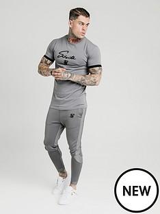 sik-silk-creased-nylon-tracksuit-pants-grey