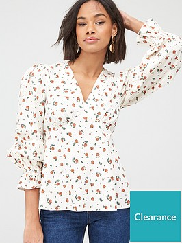 v-by-very-printed-cotton-poplin-blouse-red-floral