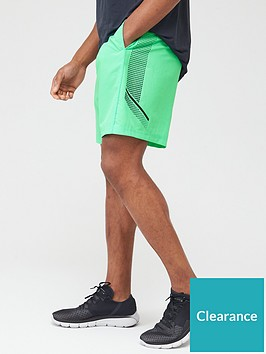 under-armour-woven-graphic-shorts-greenblack