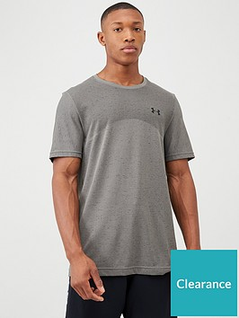 under-armour-seamless-t-shirt-greenblack