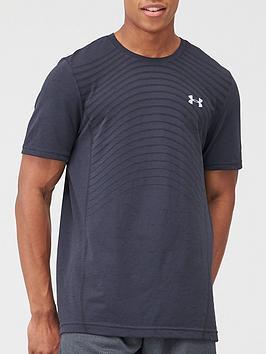 under-armour-seamless-wave-t-shirt-blackgrey