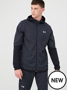 under-armour-double-knit-full-zip-hoodie-blackwhite