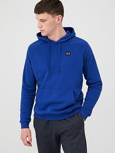 under-armour-rival-fleece-overhead-hoodie-blueblack