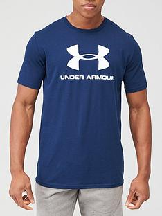 under-armour-sportstyle-logo-t-shirt-academynbsp