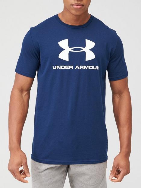 under-armour-trainingnbspsportstyle-logo-t-shirt-academy