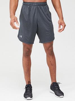 under-armour-knit-training-shorts-blackgrey