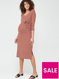 mama-licious-maternity-naya-stripe-jersey-dress-with-tie-belt-multi