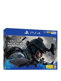 playstation-4-ps4-500gb-with-call-of-duty-modern-warfare-2019-with-optional-extras