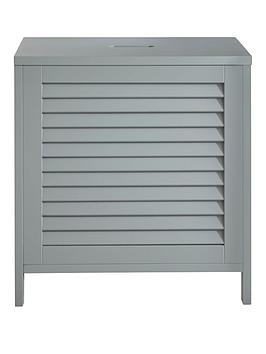 lloyd-pascal-atlanta-laundry-hamper-with-lift-up-lid-grey