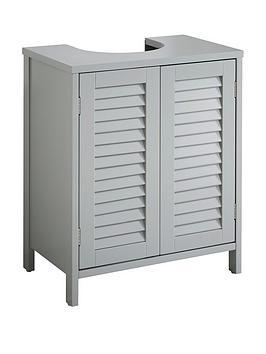lloyd-pascal-atlanta-under-basin-unit-with-push-opening-doors-grey