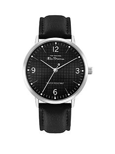 ben-sherman-ben-sherman-black-sunray-and-silver-detail-dial-black-leather-strap-mens-watch