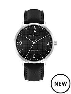 ben-sherman-ben-sherman-black-sunray-and-silver-detail-dial-black-leather-strap-mens-watch